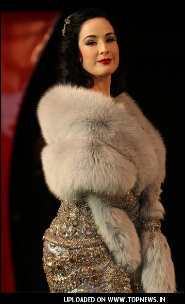 Dita Von Teese at Erotica 2007 in London